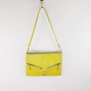 Botkier Lemon Lime Trigger Crossbody Clutch Bag